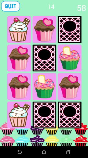 Cupcake Matching Games