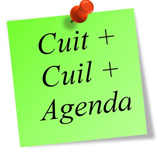 Cuit + Cuil + Agenda