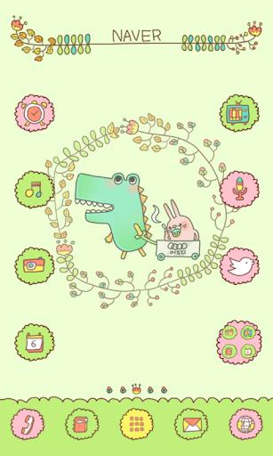 Alligator dodol launcher theme