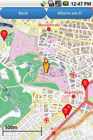 【免費旅遊App】Athens Amenities Map-APP點子