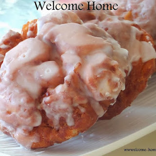 Warm Apple Fritters.