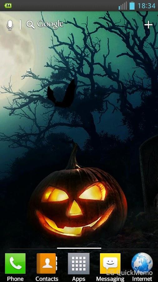 halloween hd live wallpaper screenshot - Halloween Wallpaper Download