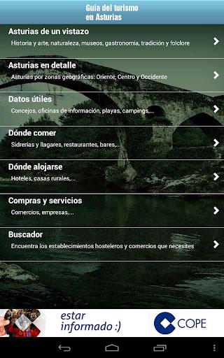 Guía turística de Asturias