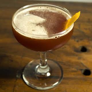 Pomegranate Bourbon Cocktail.