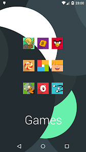 Easy Square - icon pack screenshot 20