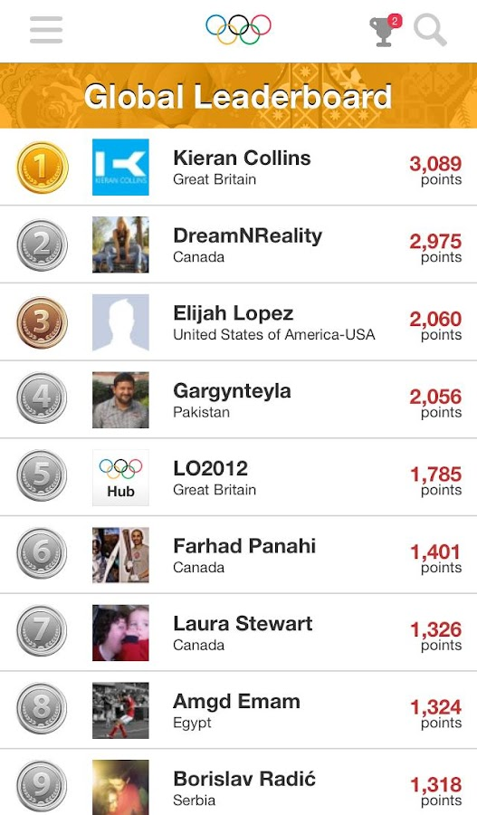 Olympic Athletes' Hub - screenshot