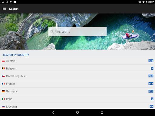 RiverApp - River flows  screenshots 6