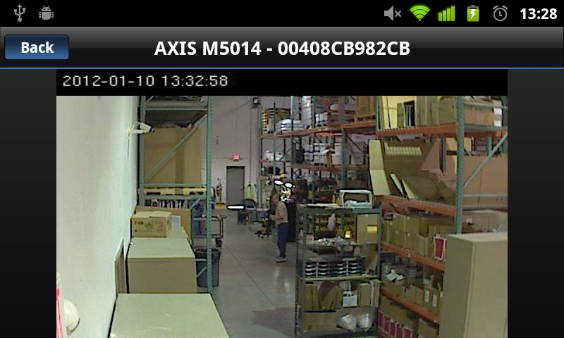 Viewer for Axis Camera Station- screenshot