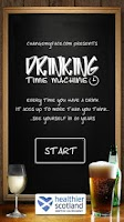 Screenshot of Drinking Time Machine