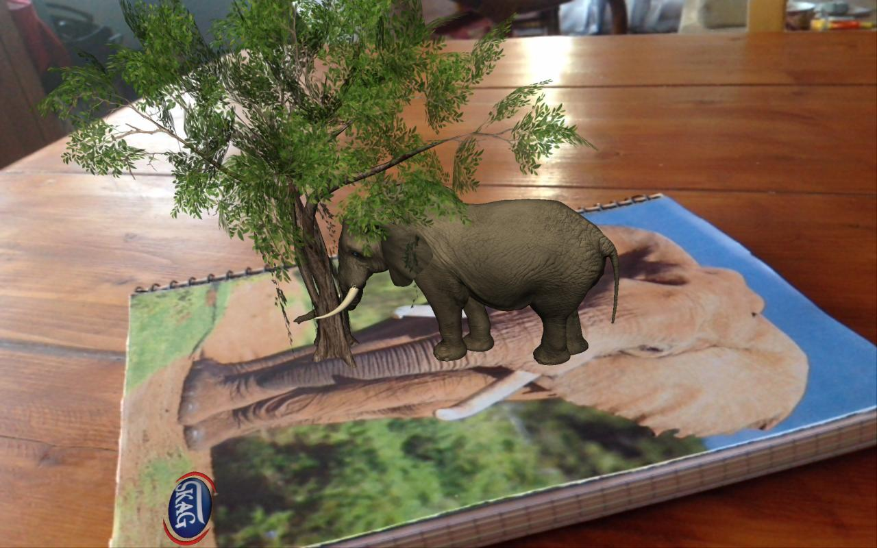 SKAG AR Safari - screenshot