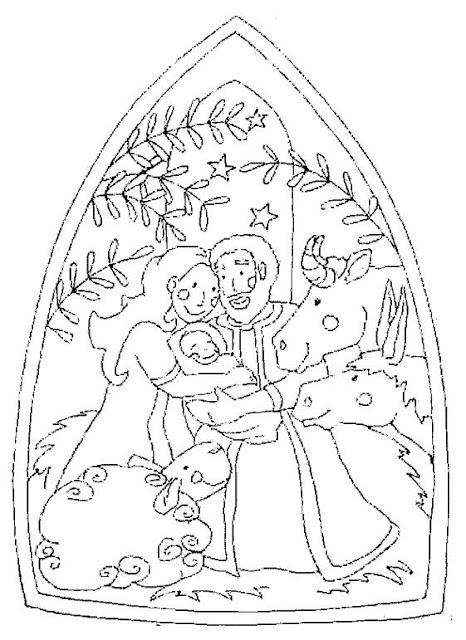 Kerst Jesus Kleurplaten Dibujos Del Pesebre Para Colorear