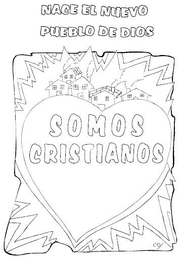 Dibujos Para Colorear Cristianos Para Imprimir Imagui