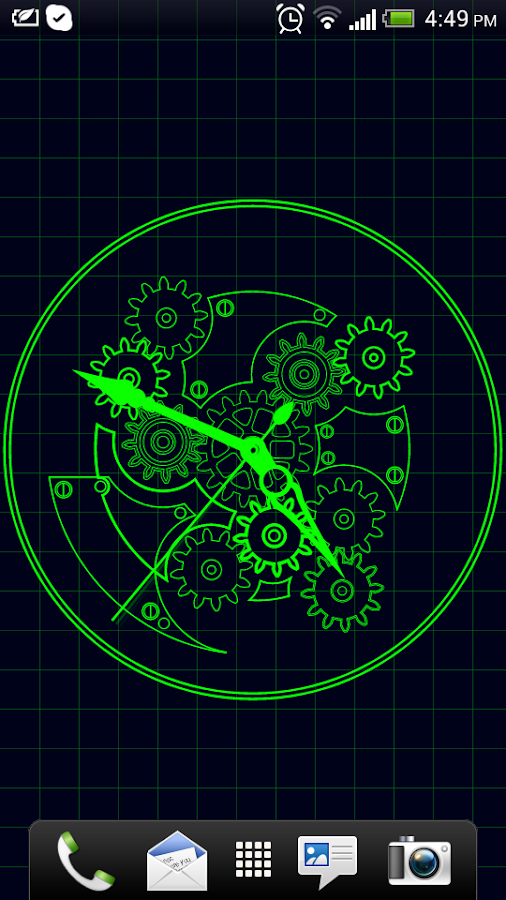 Clock blueprint live wallpaper android apps on google play clock blueprint live wallpaper screenshot malvernweather Gallery