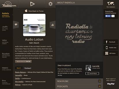 Radiolla- screenshot thumbnail