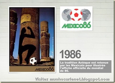 Affiche Mexique 1986