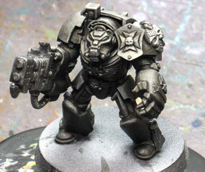 Warhammer Painting Smooth Black Armour