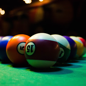 Pool . by Daniel MV - Sports & Fitness Other Sports ( ball, pool, colors, night, light )