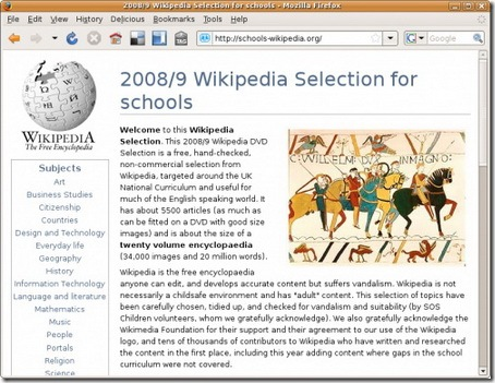 Wikipedia-Selection