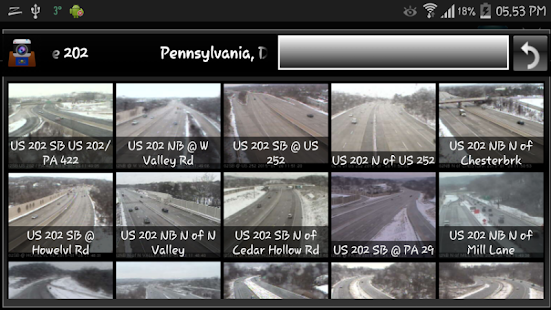 Cameras Pennsylvania - Traffic - Android Apps on Google Play