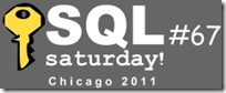 SQLSaturday 67 Logo