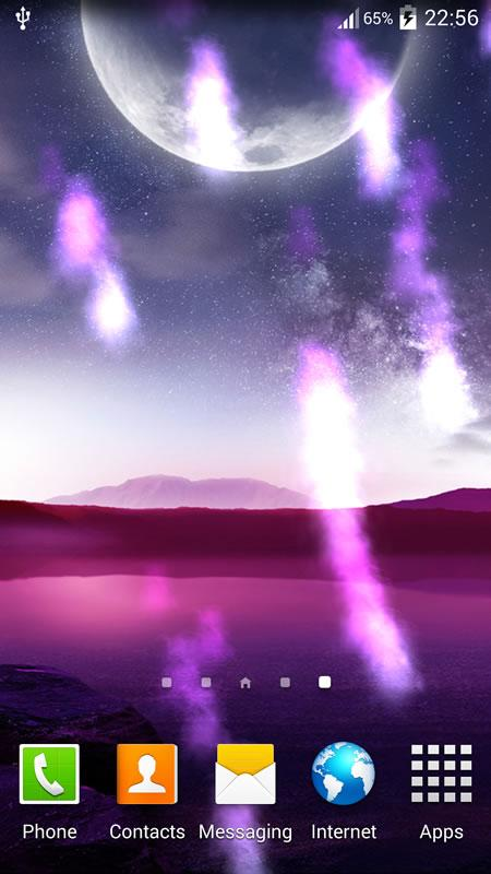 Meteor Live Wallpaper- screenshot