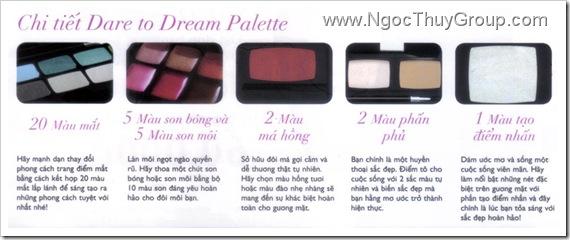 Ultimate DareToDream Make-up Pallete - Details