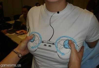 naughty video game controller