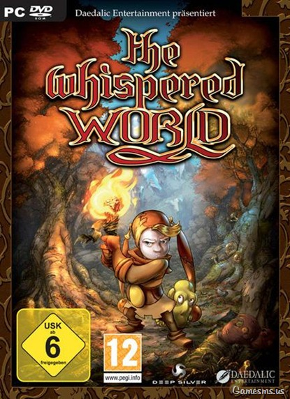 The Whispered World PC Game Cover