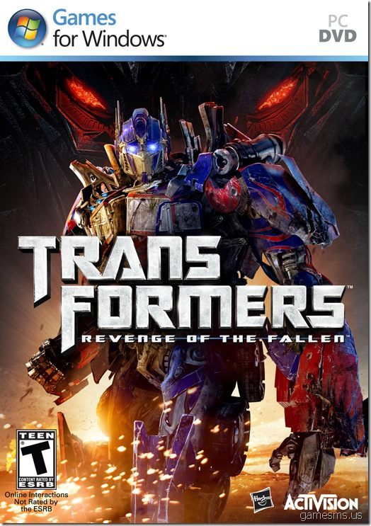 Transformers Revenge Of The Fallen US Cover