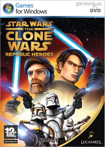 Star Wars The Clone Wars Republic Heroes -GameSMS