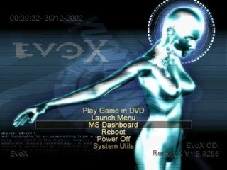 evox boot screen
