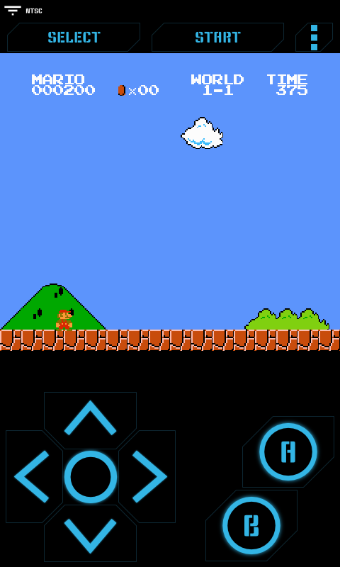 Nostalgia.NES (NES Emulator) - screenshot