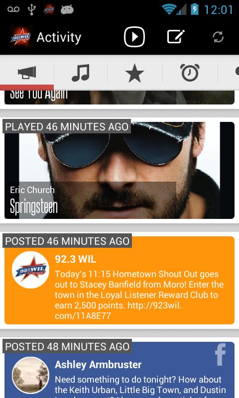 92.3 WIL - screenshot