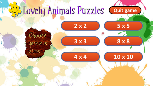 Cute Animals Puzzles for Kids