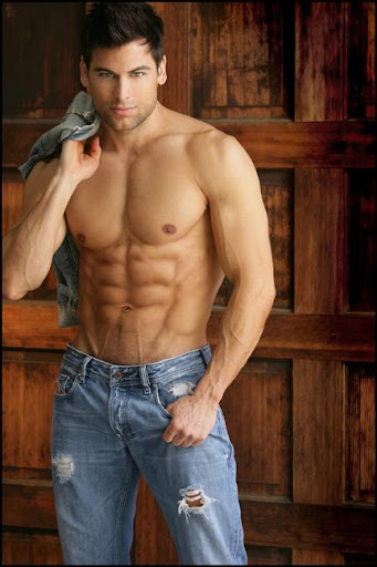 Sexy Muscle Man: T.J. Hoban - Muscle Hunk with Killer Abs
