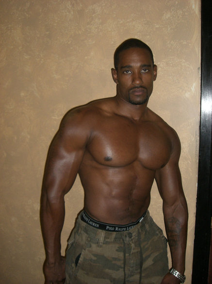 muscle black porno Men