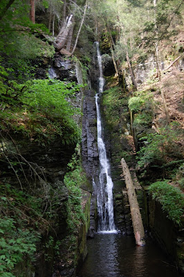 California Driving Record >> Silver Thread Falls, Pennsylvania | The Waterfall Record