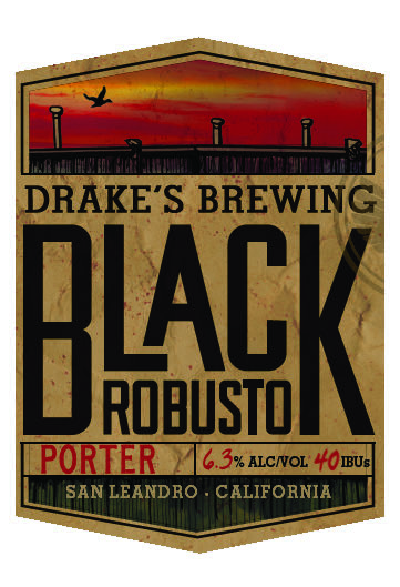 Logo of Drake's Black Robusto Porter