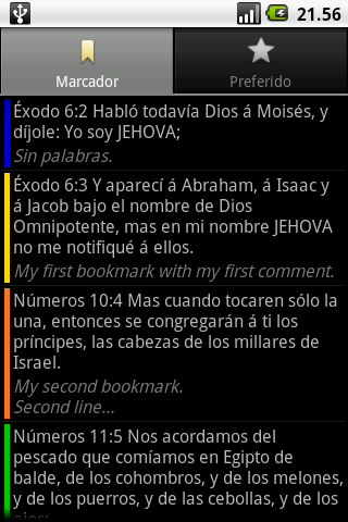 Santa Biblia (Holy Bible)- screenshot