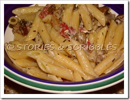 Pasta and mushrooms (18)