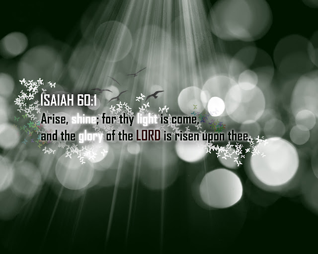 True Vine Productions wallpaper Arise Shine from Isaiah