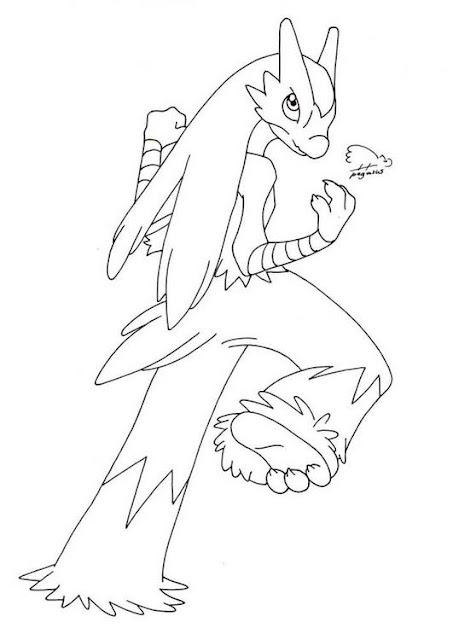 Colorear Dibujos De Pokemon 3