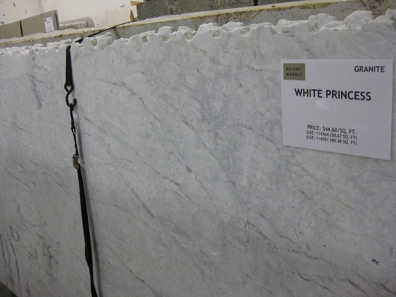 please list all marble look countertops