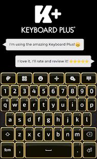 Zlatá klávesnice - náhled