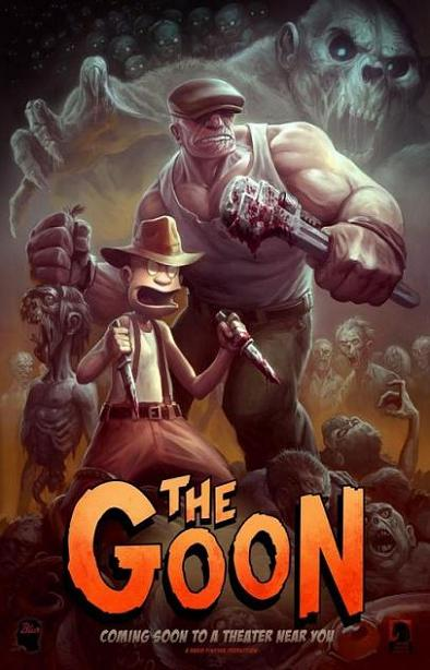 The Goon, movie, poster