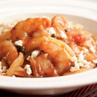 Mediterranean Sautéed Shrimp & Fennel.