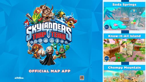 Skylanders Trap Team Map App