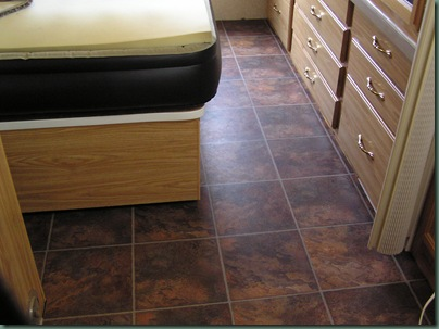 Rv Travels With Karen And Al Allure Flooring Step By Step