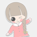 콩이 러브레터 카카오톡 테마 icon