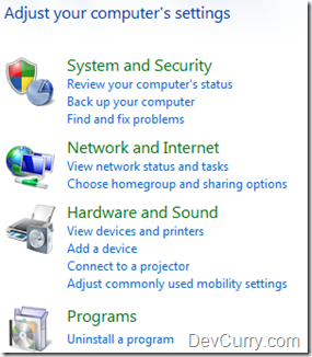 Install IIS 7 on Windows 7